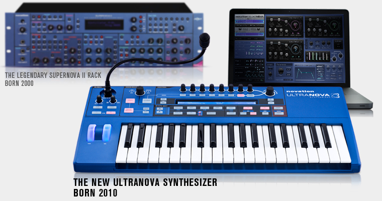 Novation Ultranova Keyboard Overview