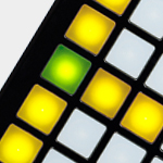 Launch Pad's 64 Button Grid