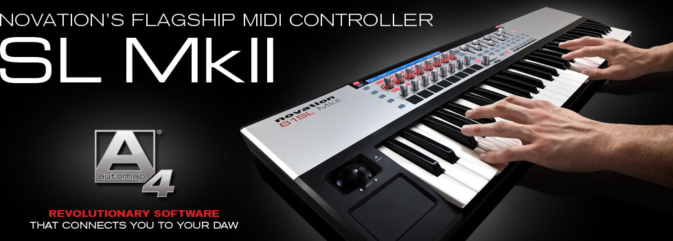 Novation SL Mark II MIDI Keyboard