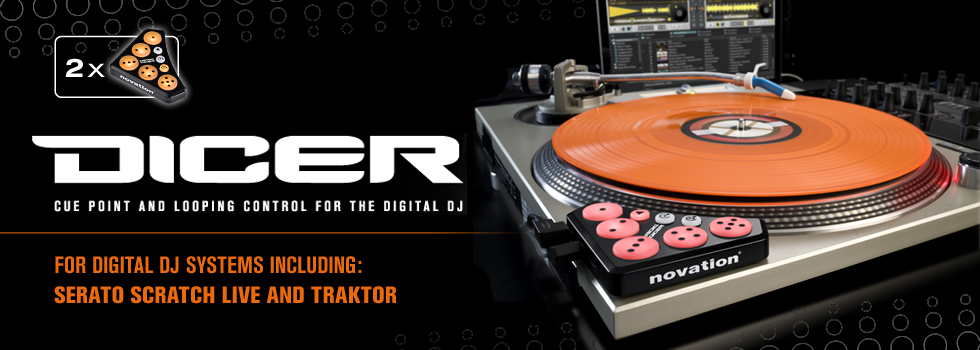 Novation Dicer Digital DJ Unit