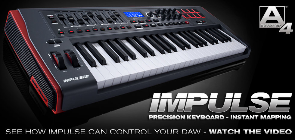 Impulse Precision keyboard from the Midi Controller range