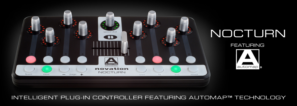 Novation Nocturn Controller